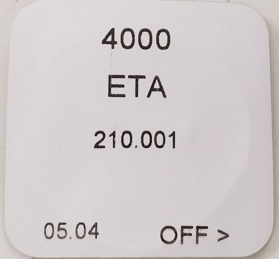 Circuit, ETA 210.001 #4000