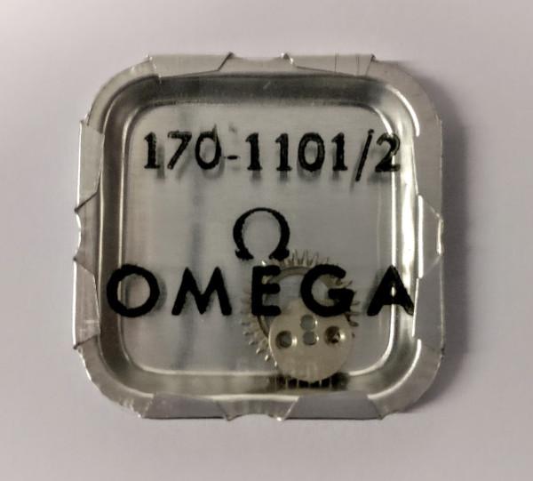 Crown Wheel and Core, Omega 170 #1101/02  (Omega 33.3, Lemania 15)