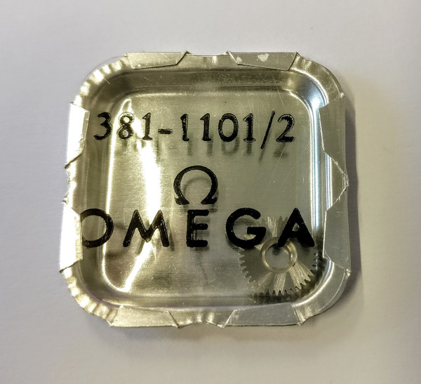 Crown Wheel, Omega 381 #1101/02
