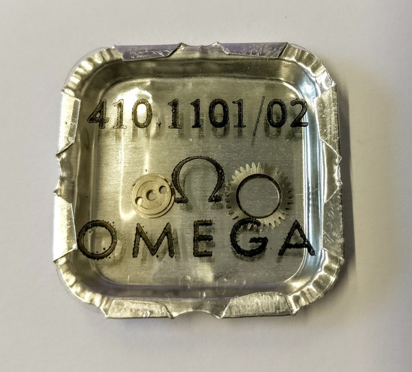 Crown Wheel and Core, Omega 410 #1101/02