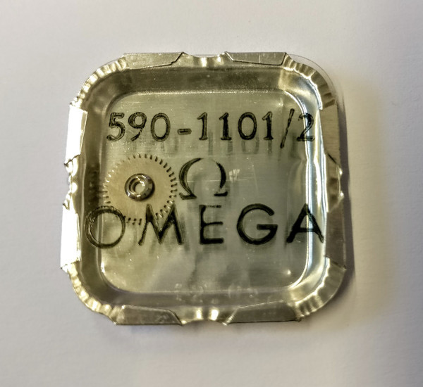 Crown Wheel and Core, Omega 590 #1101/02