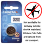 Renata Lithium Batteries x10