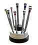 French Screwdrivers - Set of 9 on a Rotating Stand