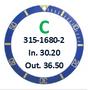 Bezel Insert, Rolex #315-1680-2 (Generic)