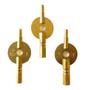 Carriage Keys, Brass