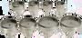 Assortment of 8 Dies for Rolex (Horotec MSA 07.311)