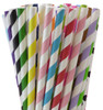 Paper Straws (250) - Select 10 Colors