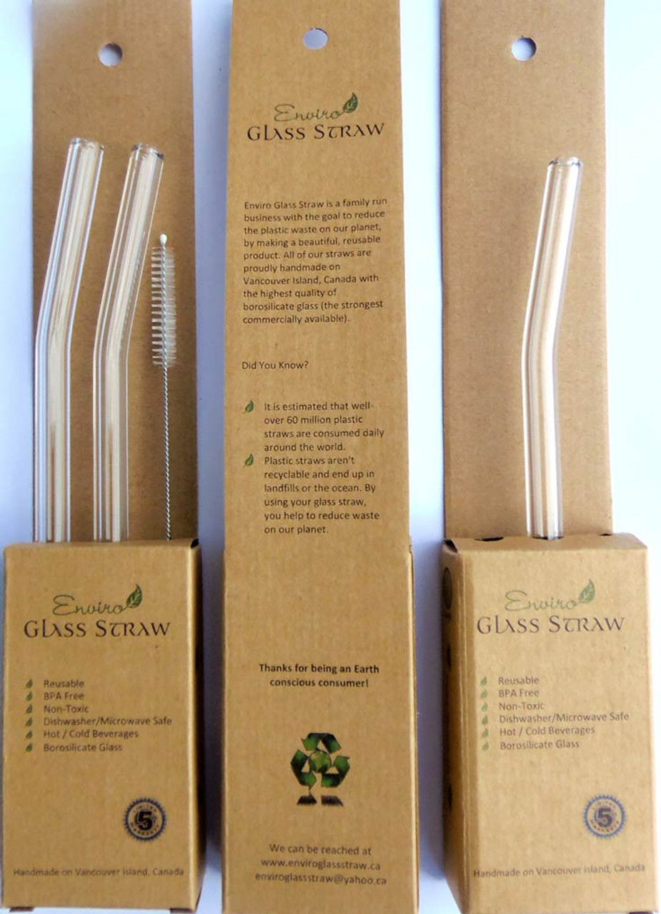 Glass Straw - 12mm