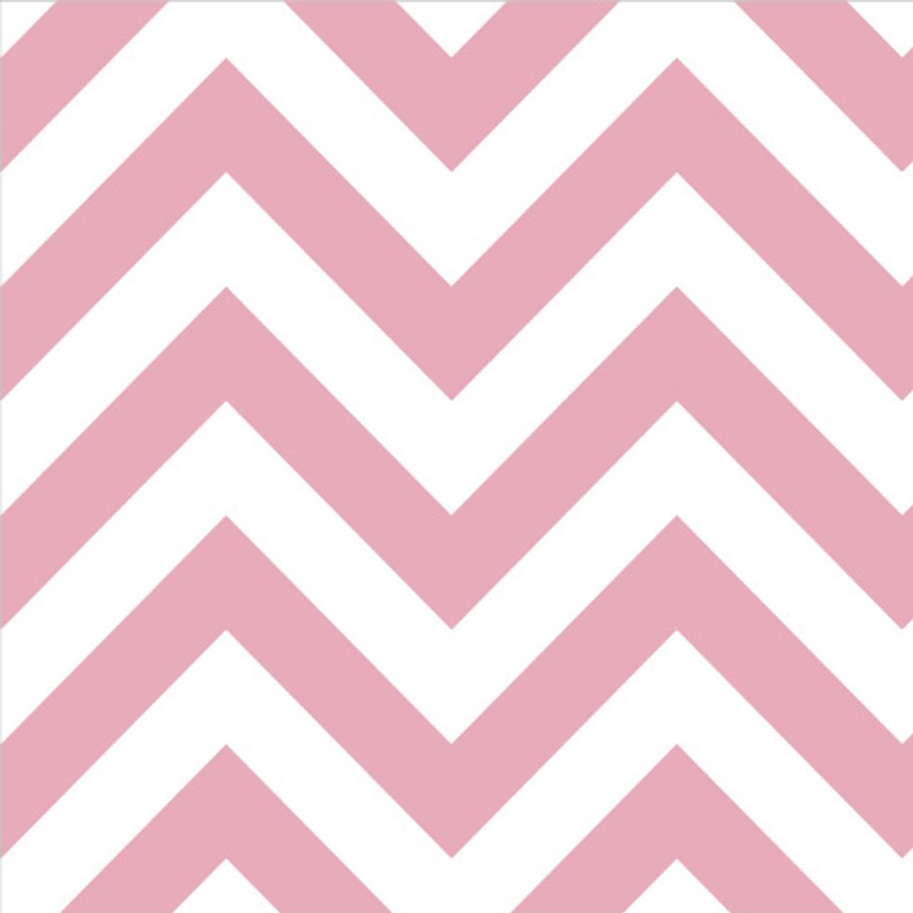 Pink Chevron Napkins