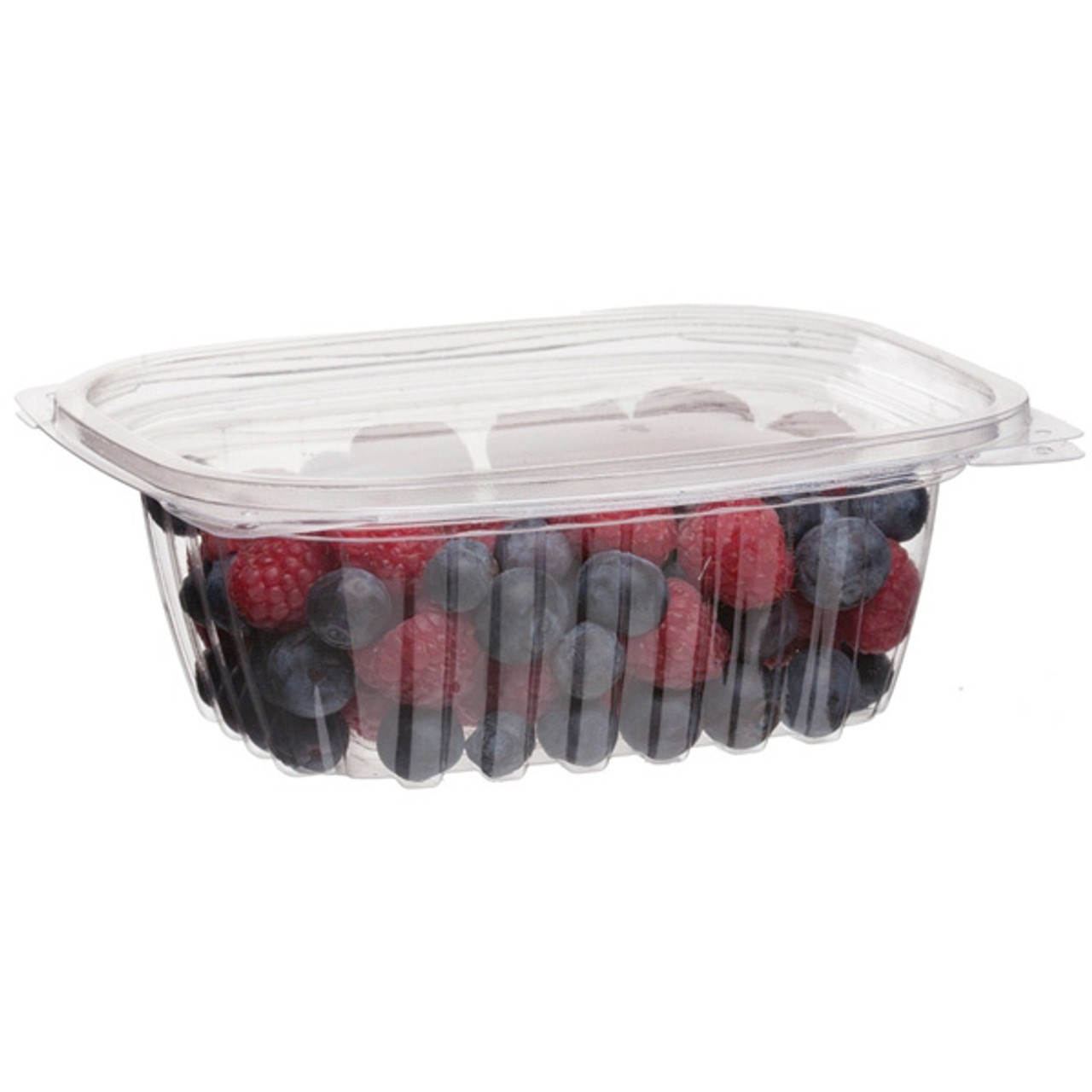 Rectangular Deli Container w/Lid - 12oz