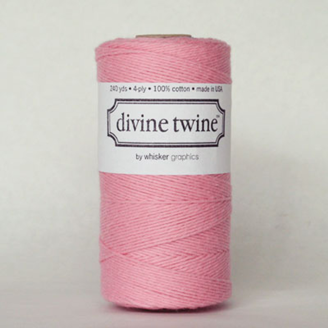 Light Pink Solid Divine Twine