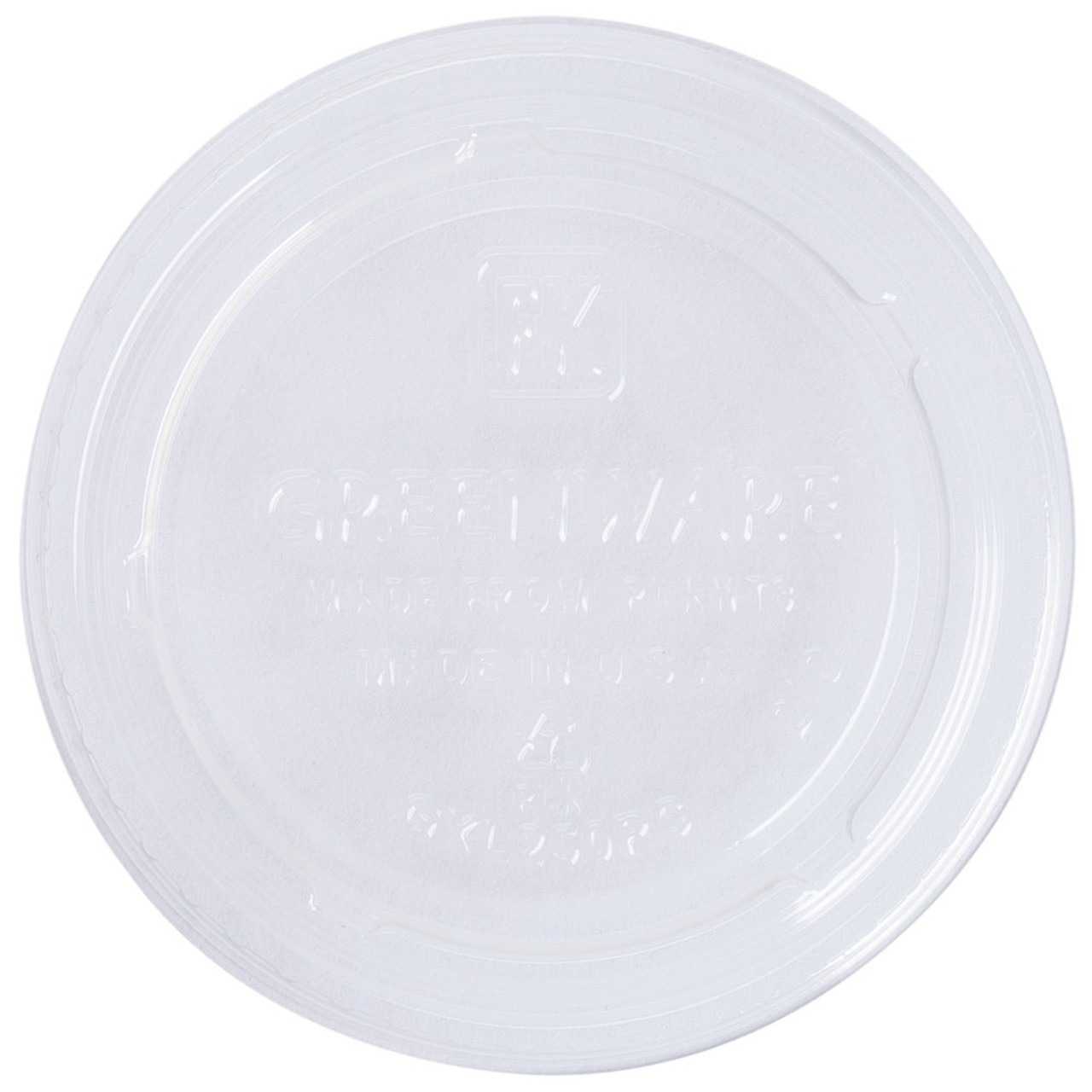 Clear Portion Cup Lid