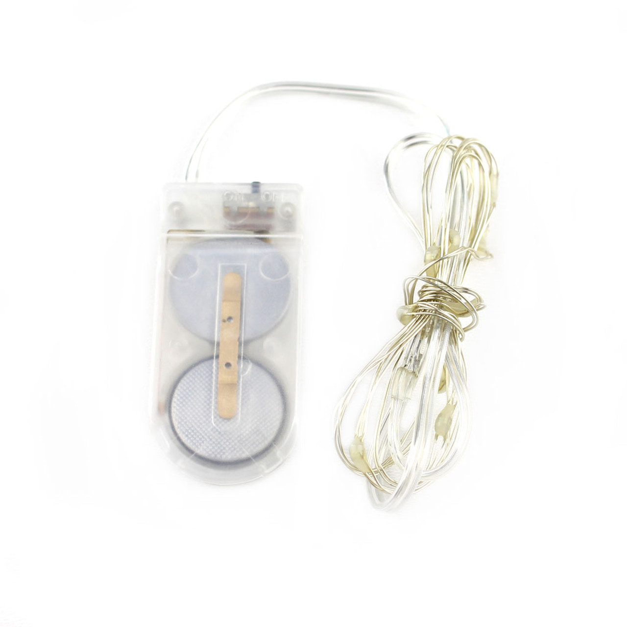 Fairy Lights 3ft, 10 LED with Coin Cell Pack