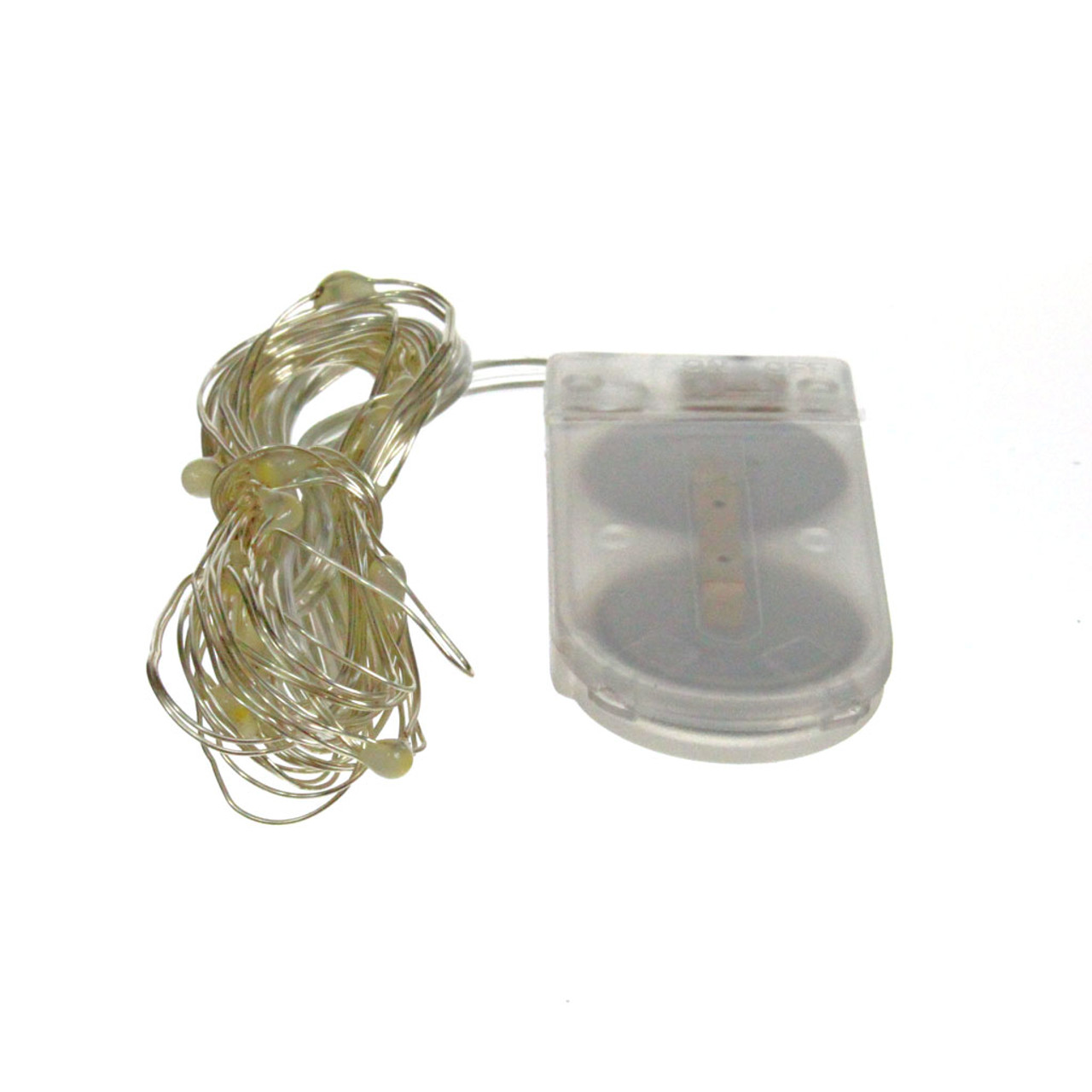 Fairy Lights 6.5ft, 20 LED with Coin Cell Pack