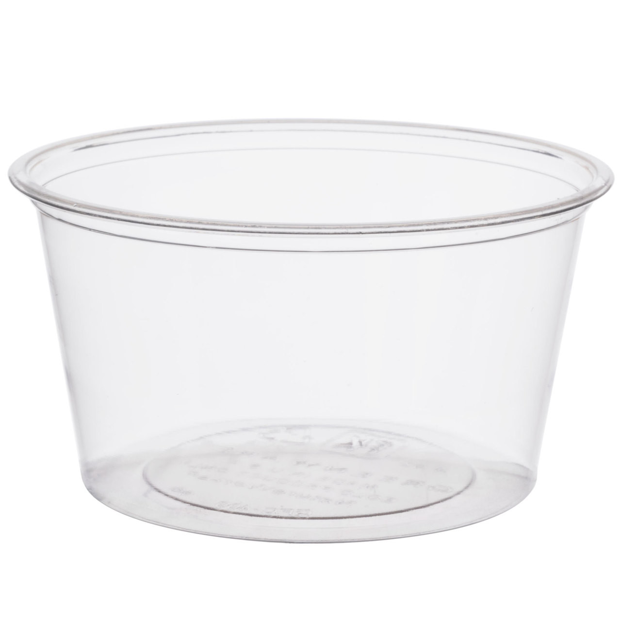 4 oz clear compostable portion cup