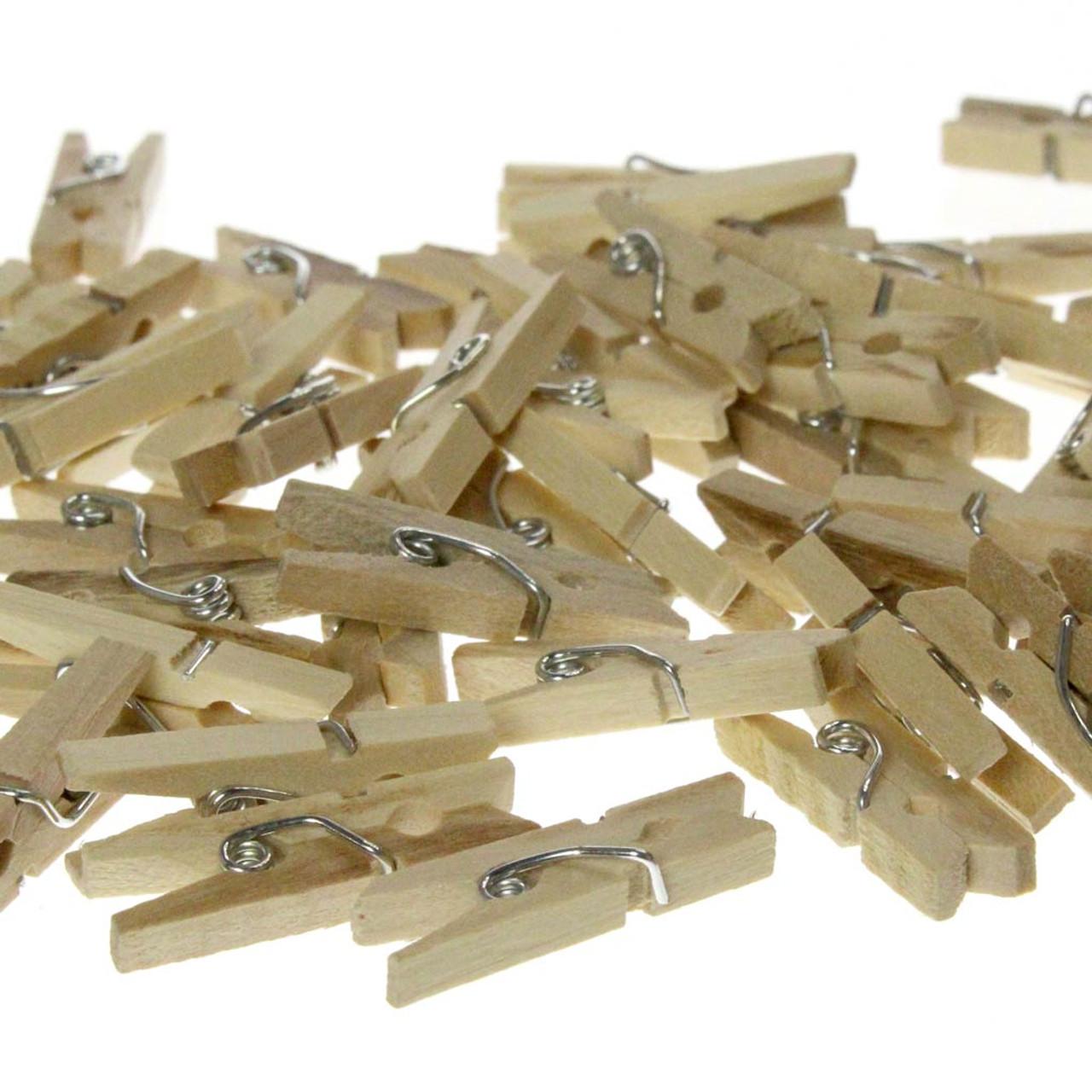 "Miniature 1"" Clothespins"