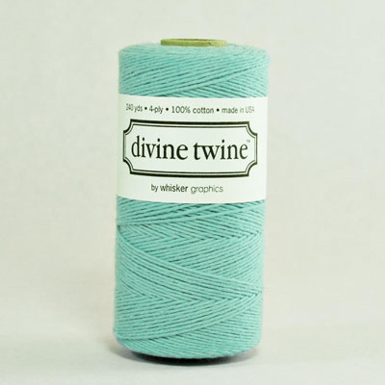 Teal Solid Divine Twine