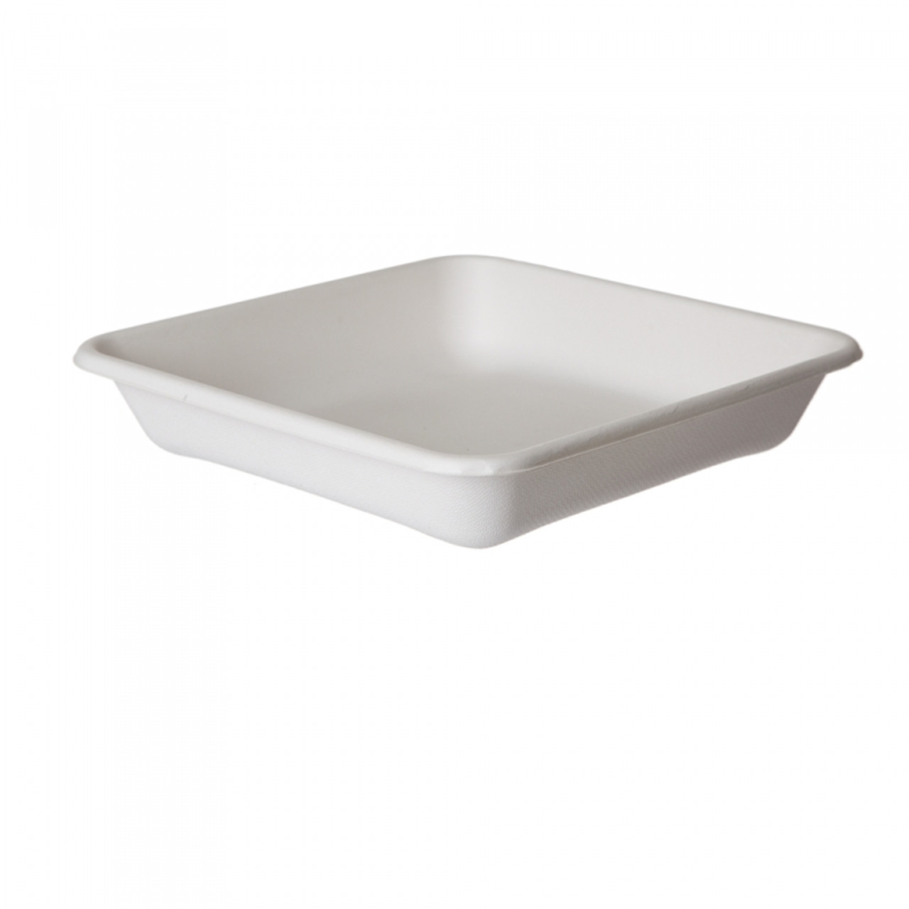 Sugarcane Take-Out Containers - 9 inch Square