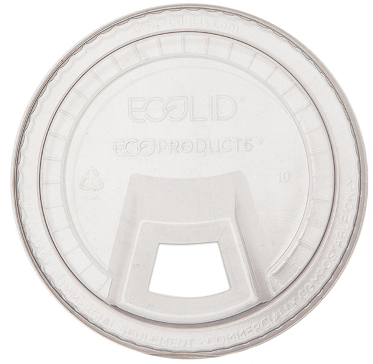 Compostable Sipping lids for cold cups.