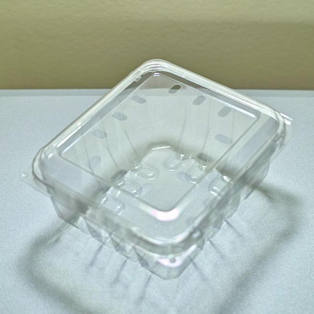 Clear Vented Berry / Fruit Container - Pint