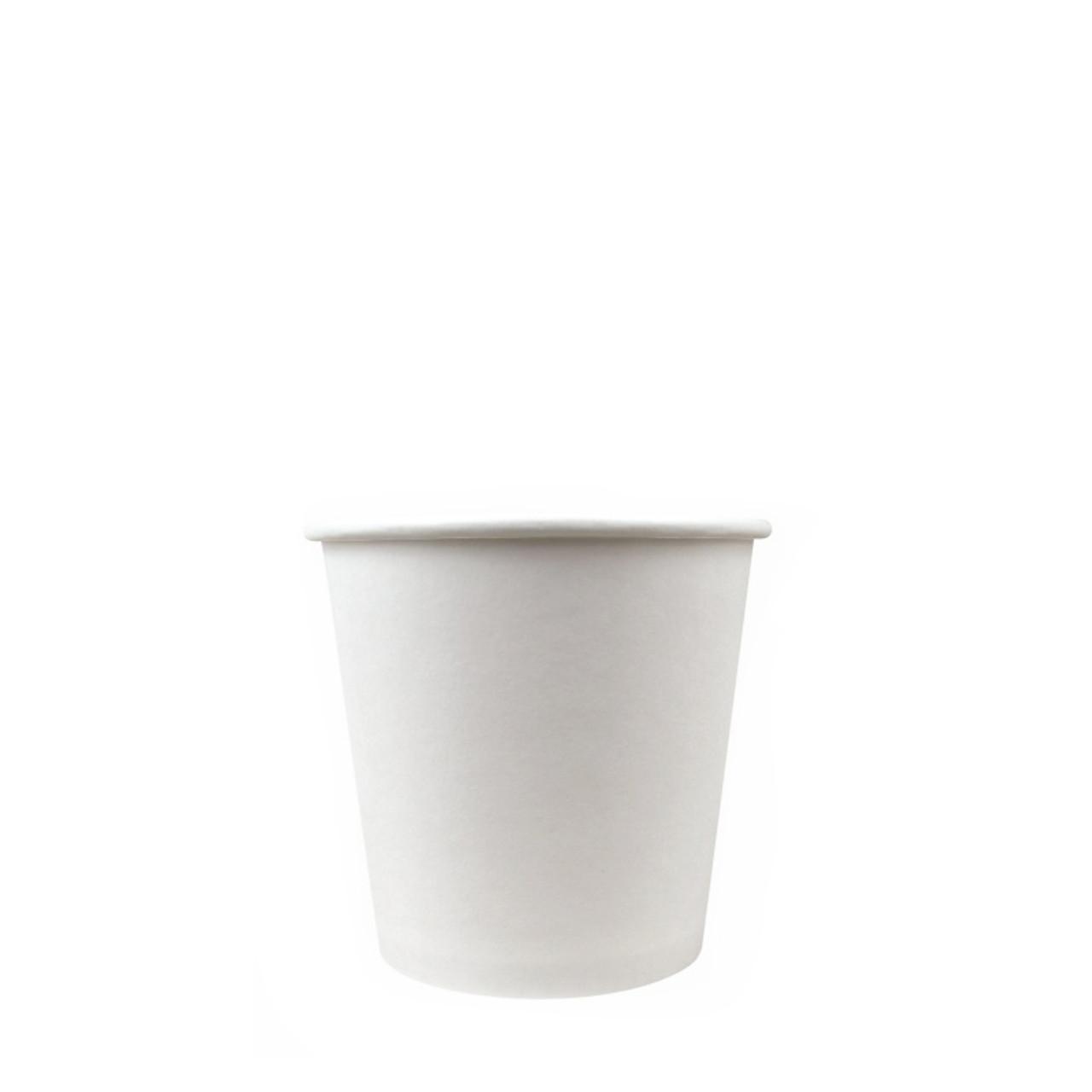 4oz white paper cup