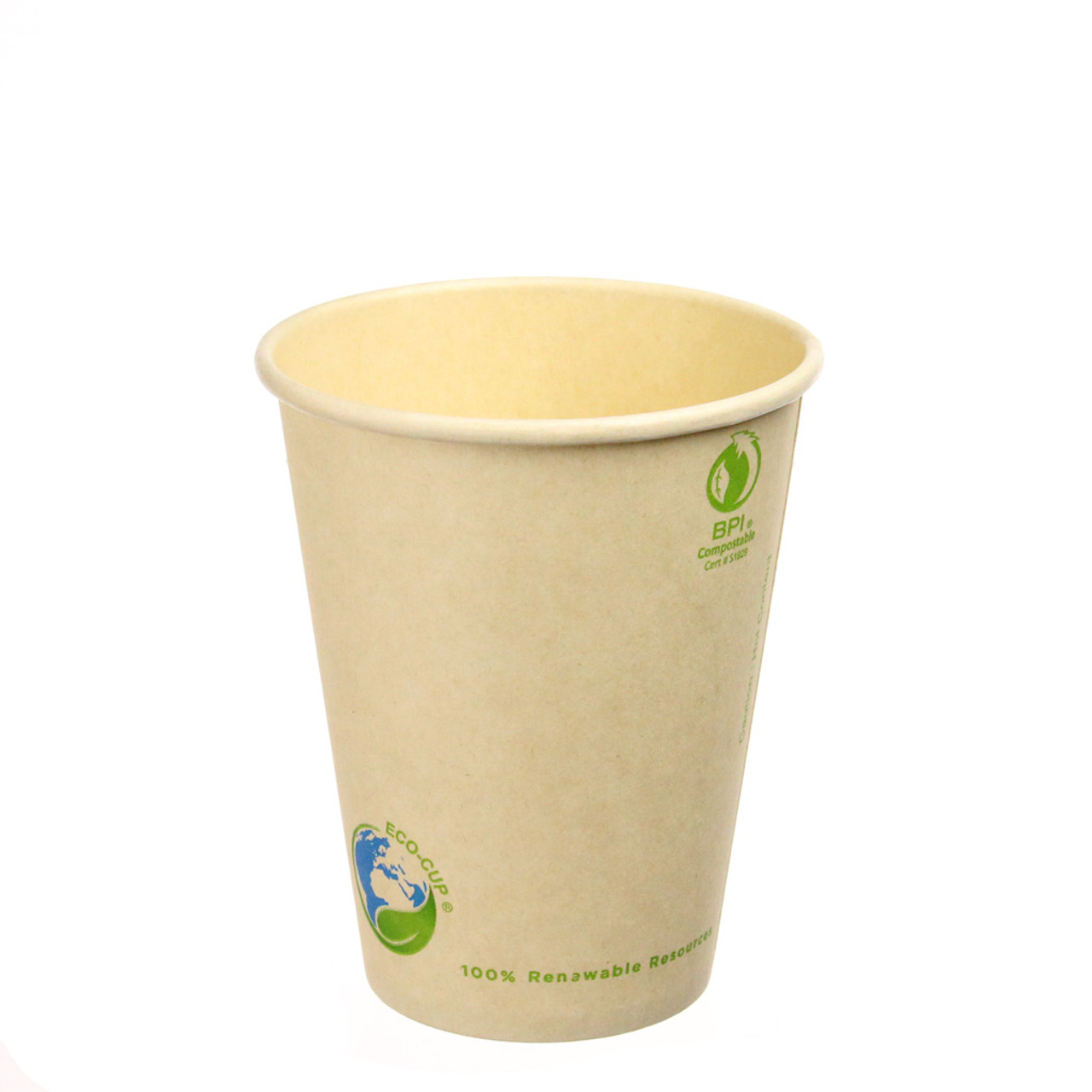 8oz Biodegradable Bamboo Hot Cup