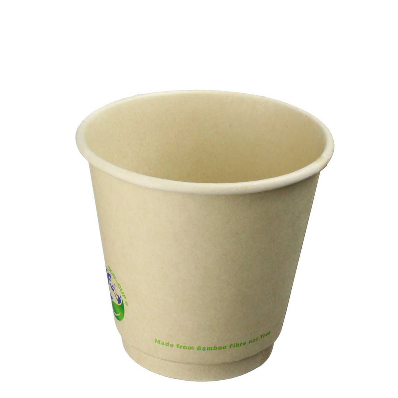 Compostable 8oz Bamboo Fiber Coffee Cups