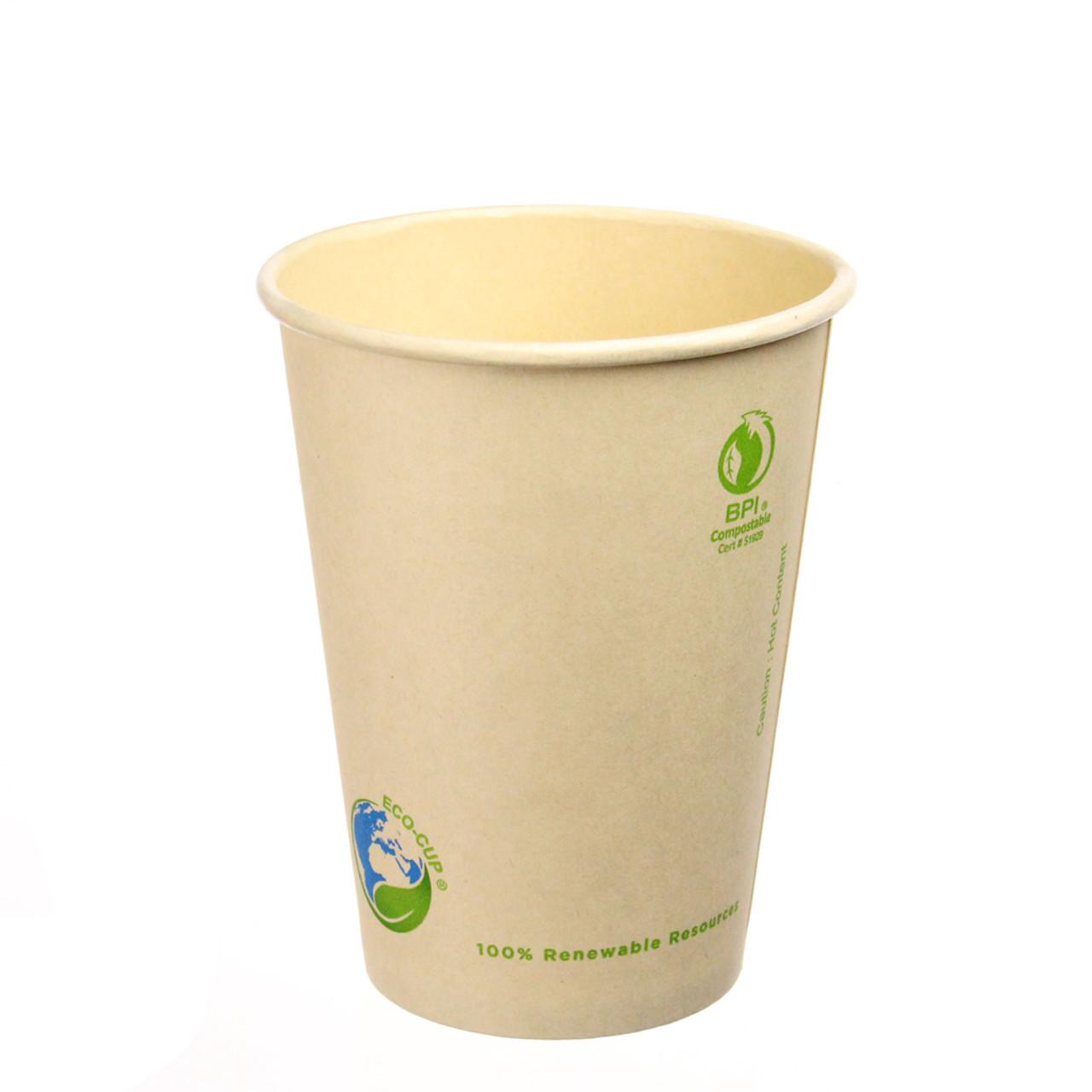12oz Bamboo Fiber Hot Cups