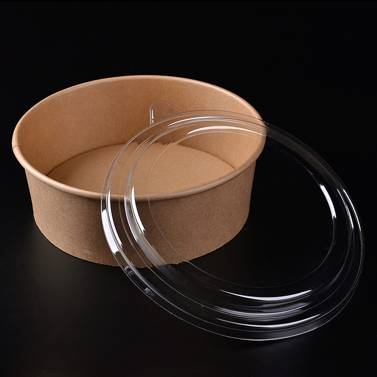 Clear Lid for Kraft Paper Salad Bowl - 44 oz