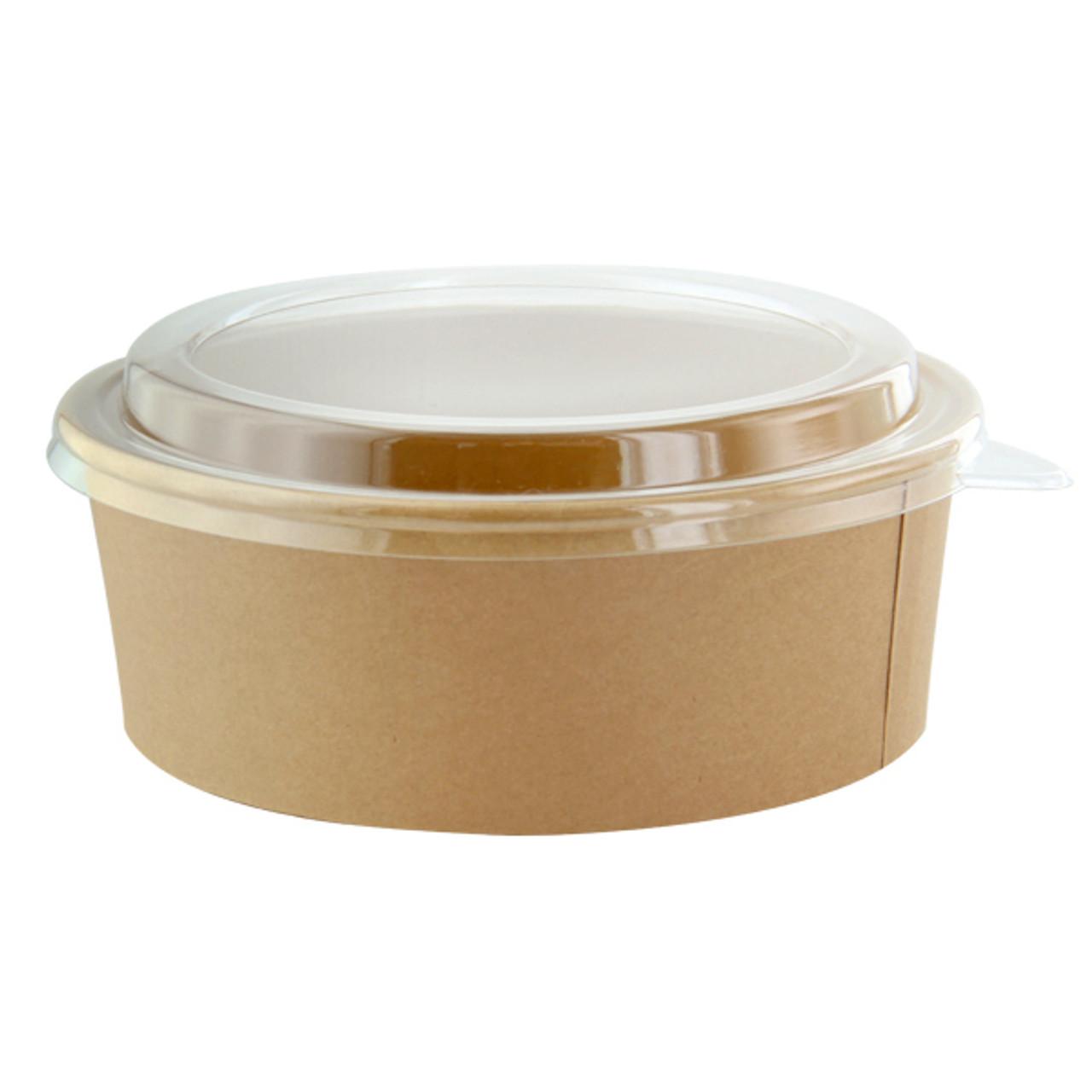 Kraft Paper Salad Bowl (without lid) - 44 oz