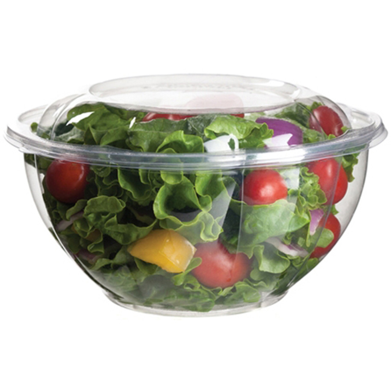 Floral Salad Bowl Base - 32 oz