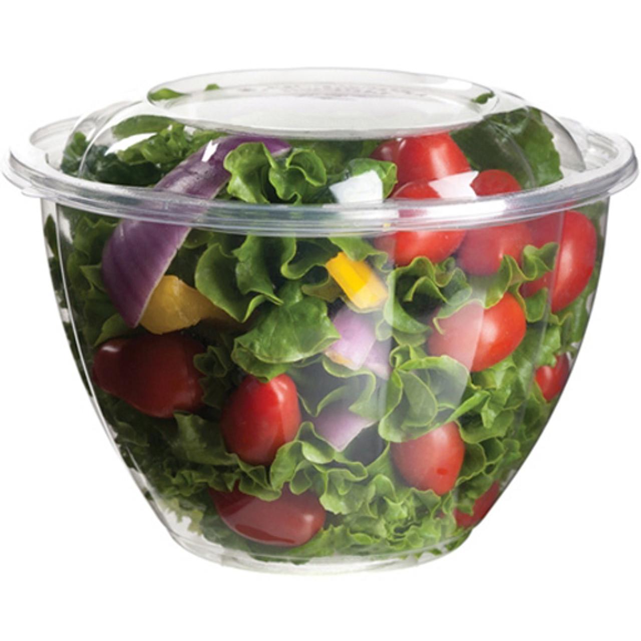 Floral Salad Bowl Base - 48 oz