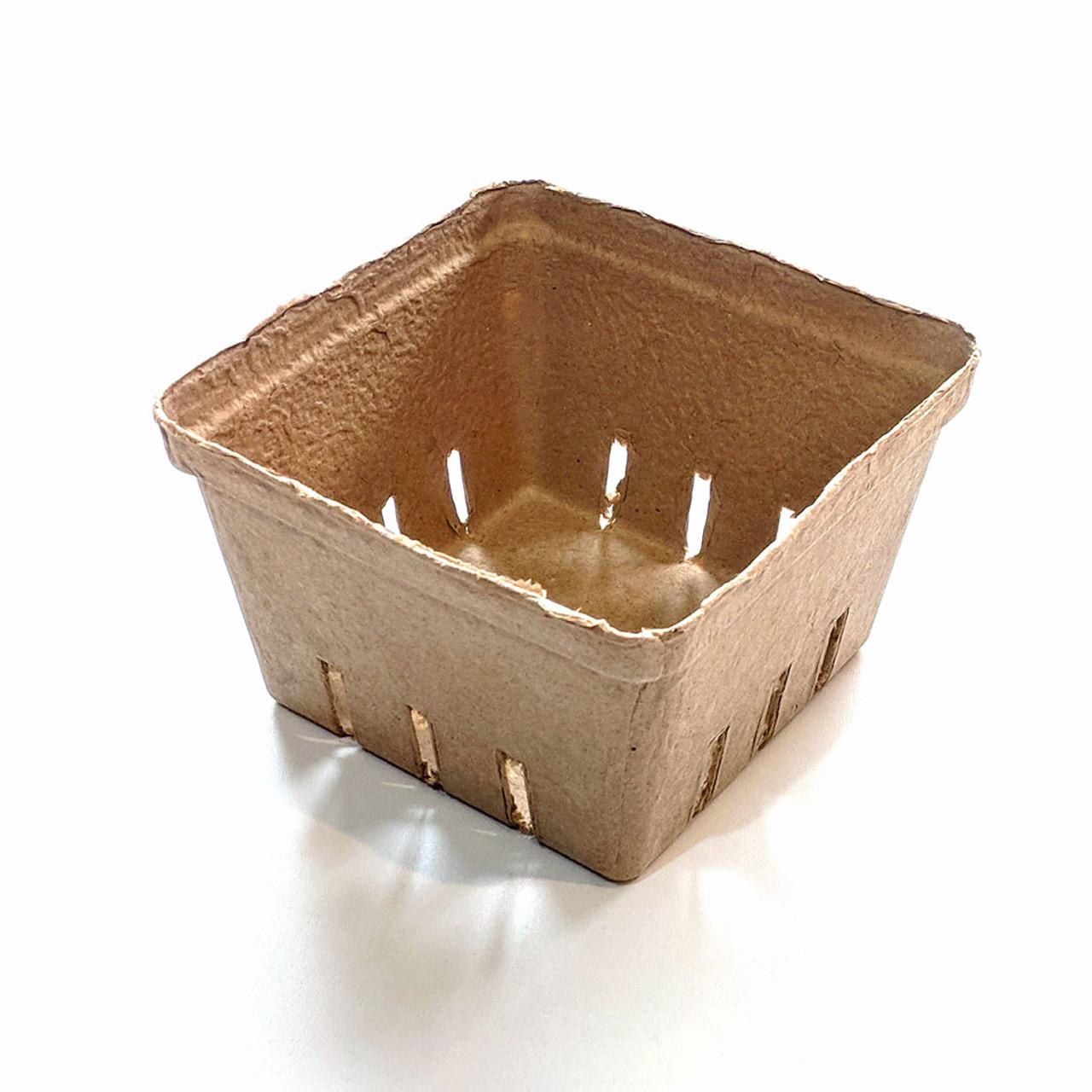1 Quart Paper Molded Berry / Produce Basket