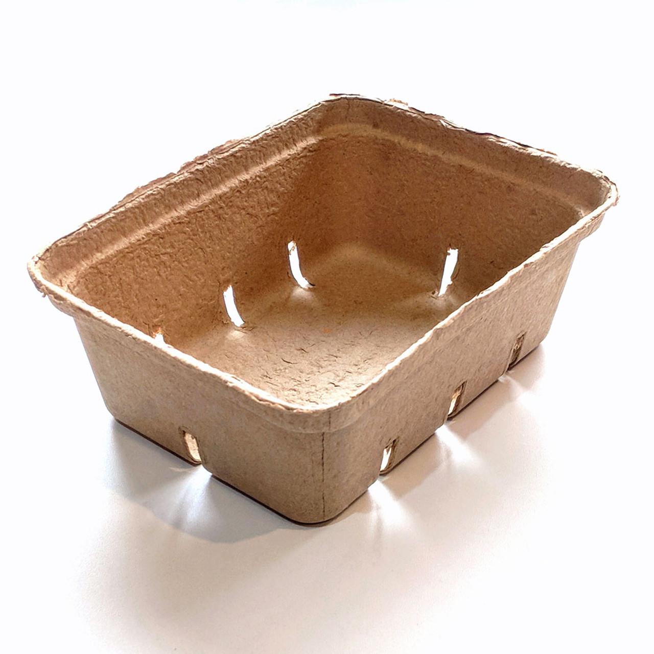 1.5 Quart Paper Molded Berry / Produce Basket