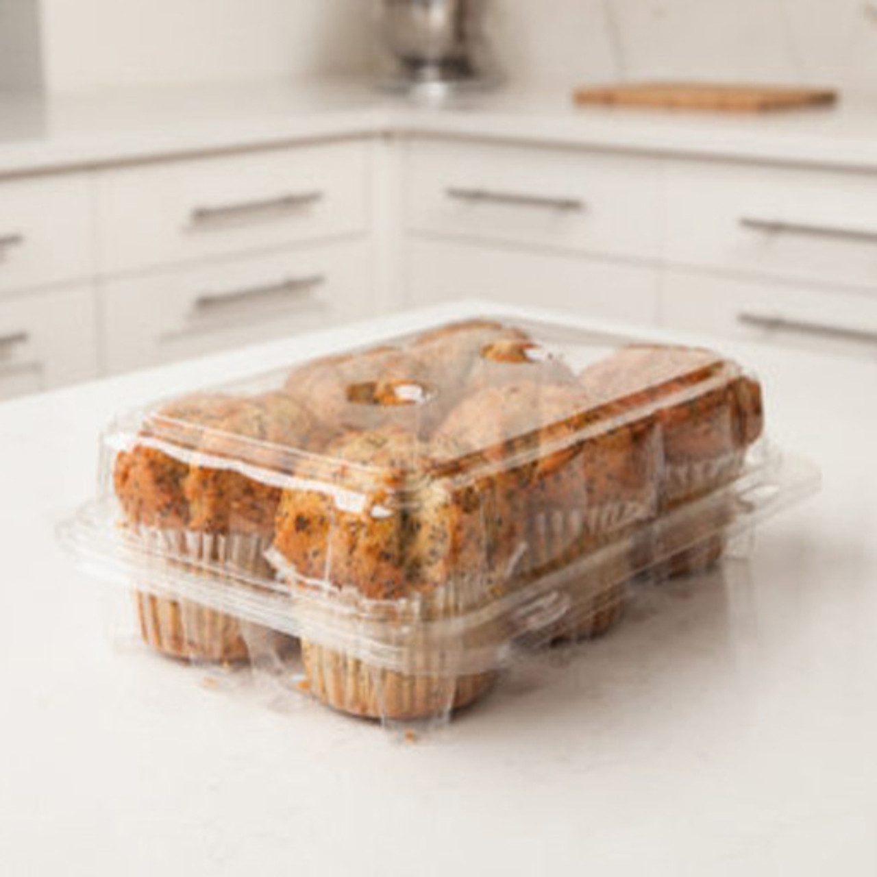 6-count Regular Cupcake & Muffin Container