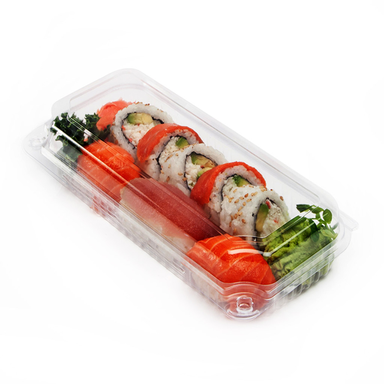 Wrap, Sushi, Veggies Hinged Utility Container