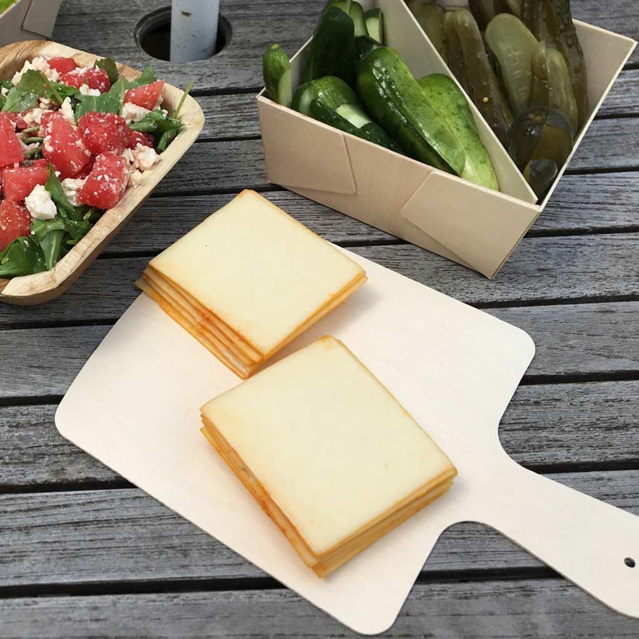 Single Use Medium Cheese Boards - 8x8