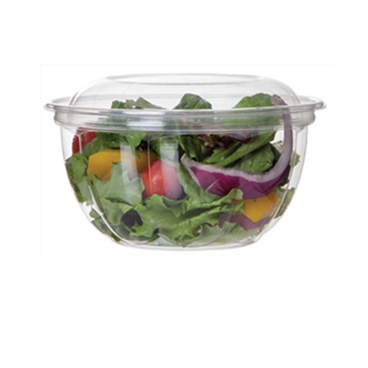 Floral Salad Bowl Base - 16 oz