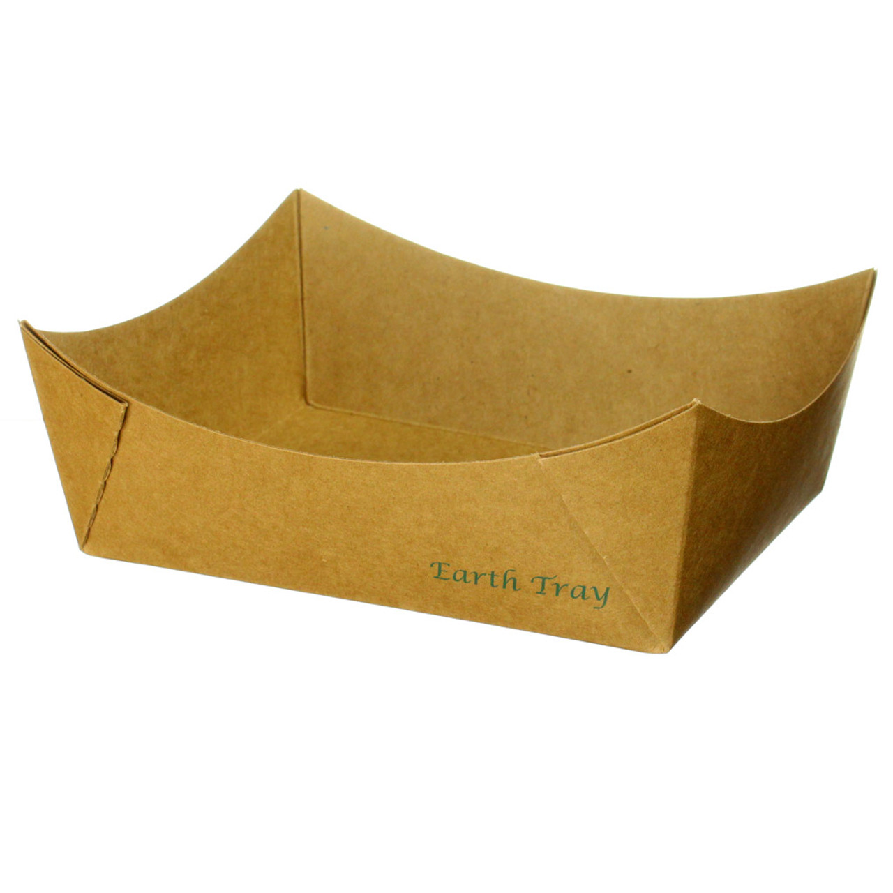 #8 Kraft Paper Tray - Uncoated