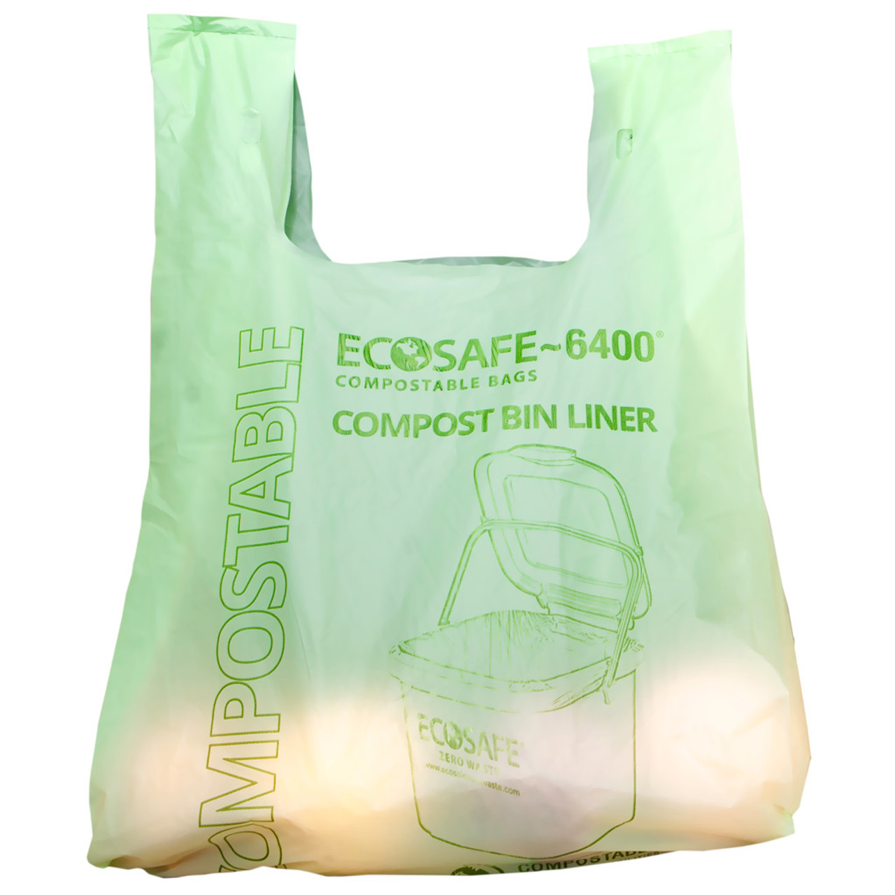 Compostable Grocery Bags with Handles