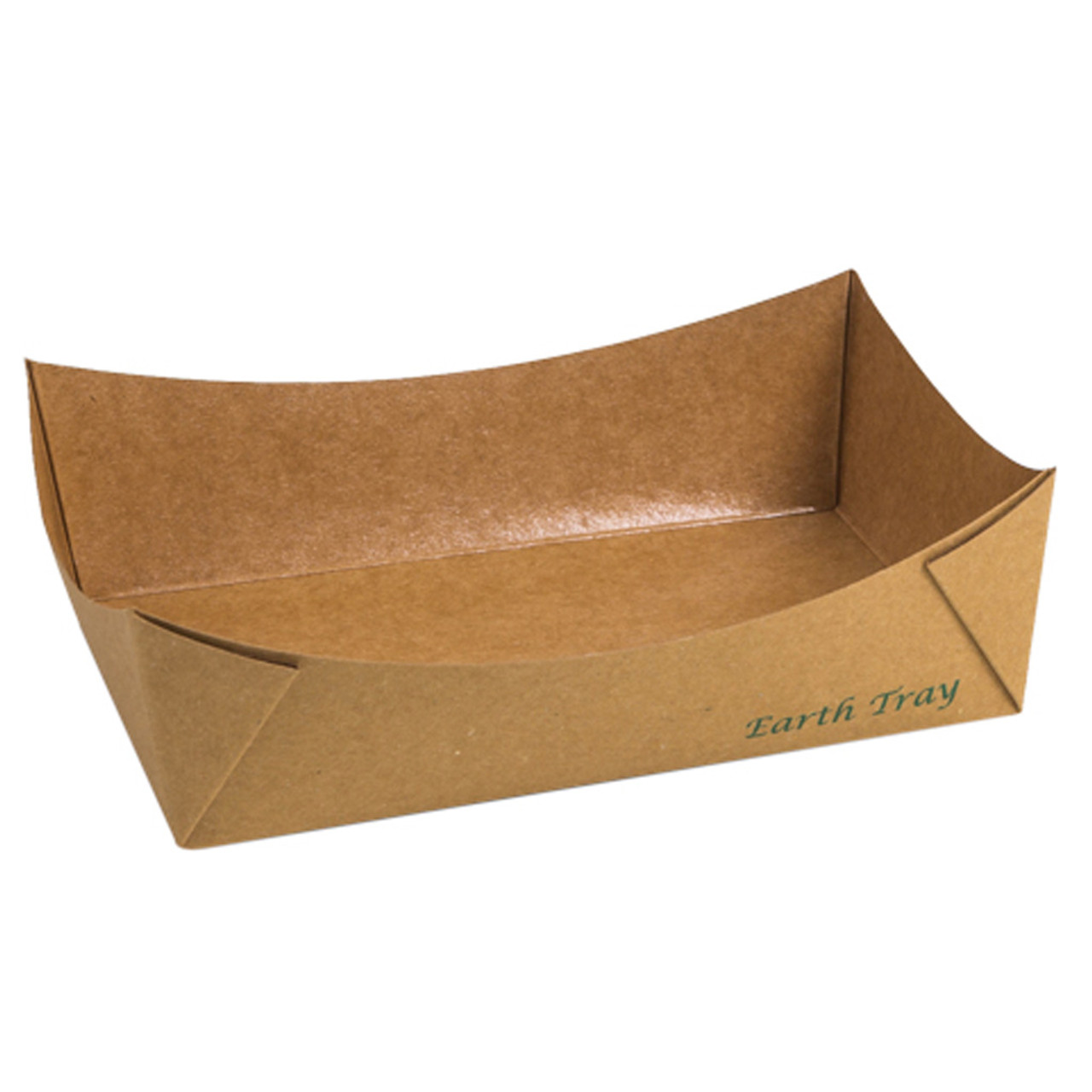#3 Kraft Paper Tray - Uncoated
