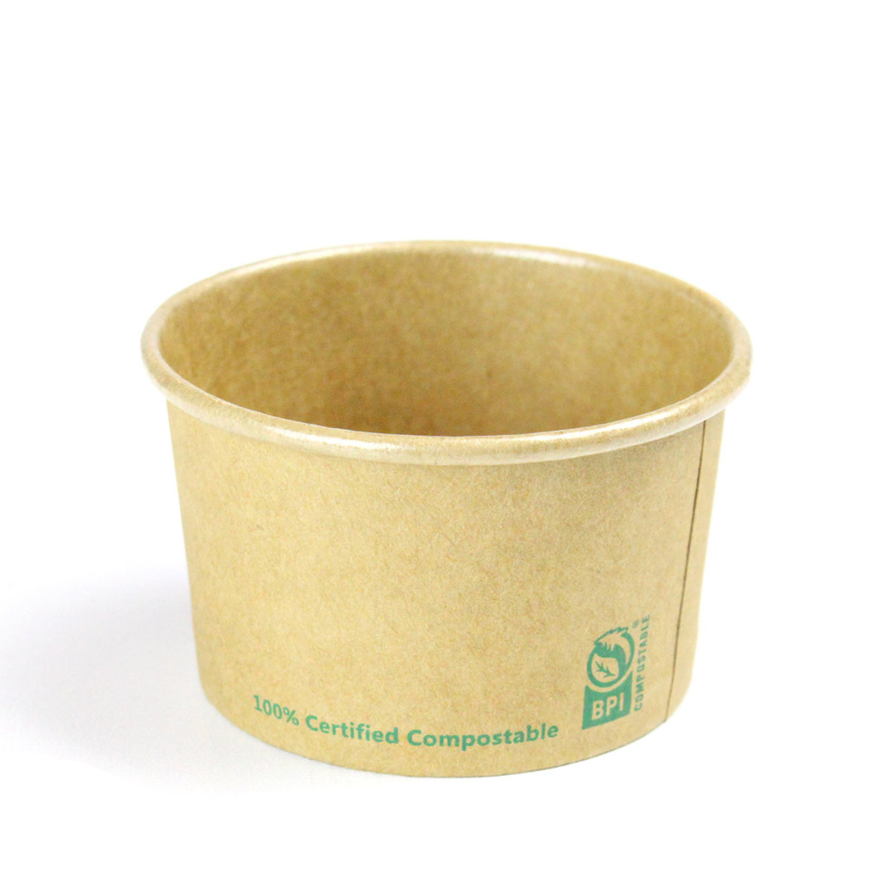 3oz Kraft Paper Sample Cups