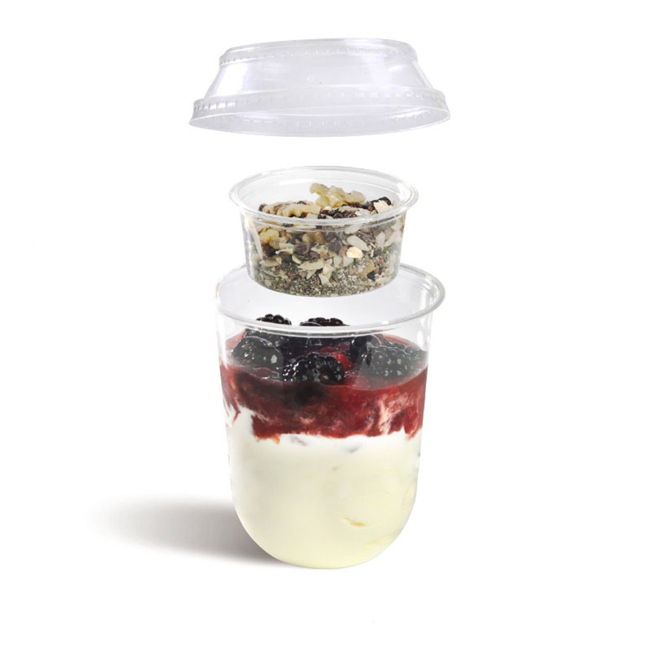 3oz compostable parfait inserts