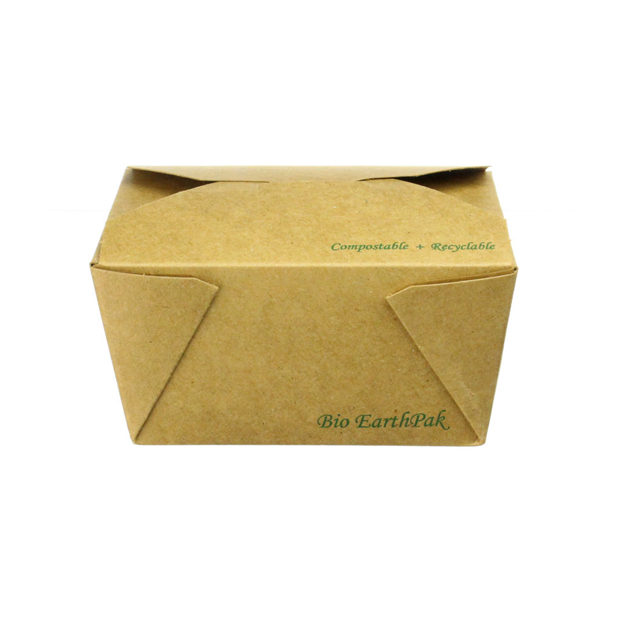 Uncoated Kraft Take Out Food Container #1