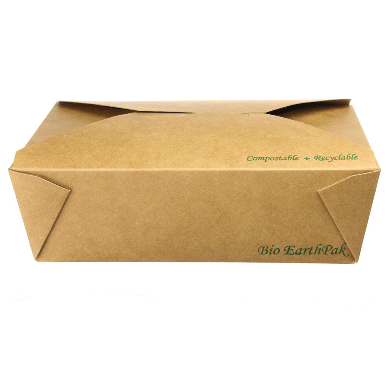 #3 Kraft Uncoated Take-out Food Boxes