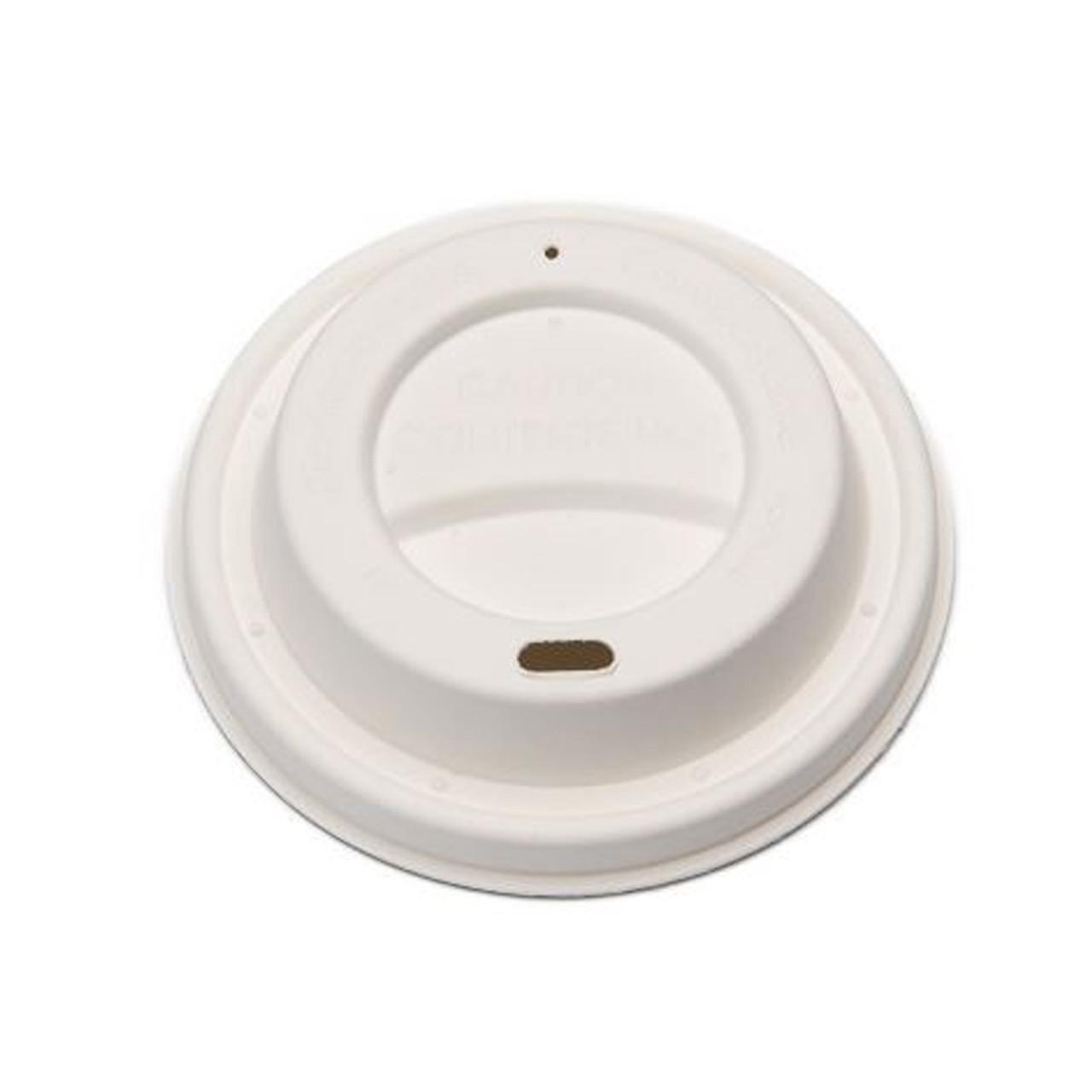 Compostable Fibre Hot Cup Lids