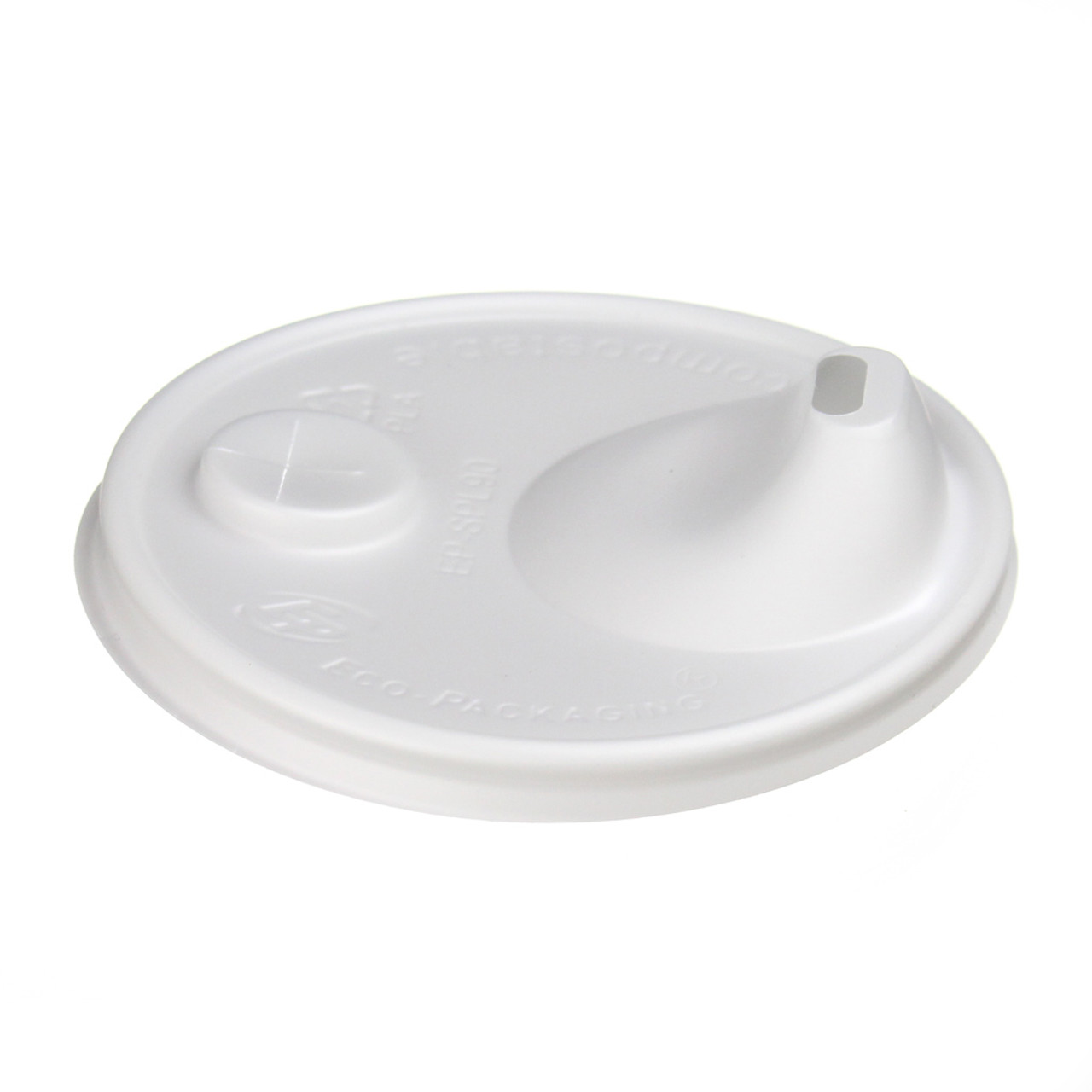 Compostable Sip and Straw Lid