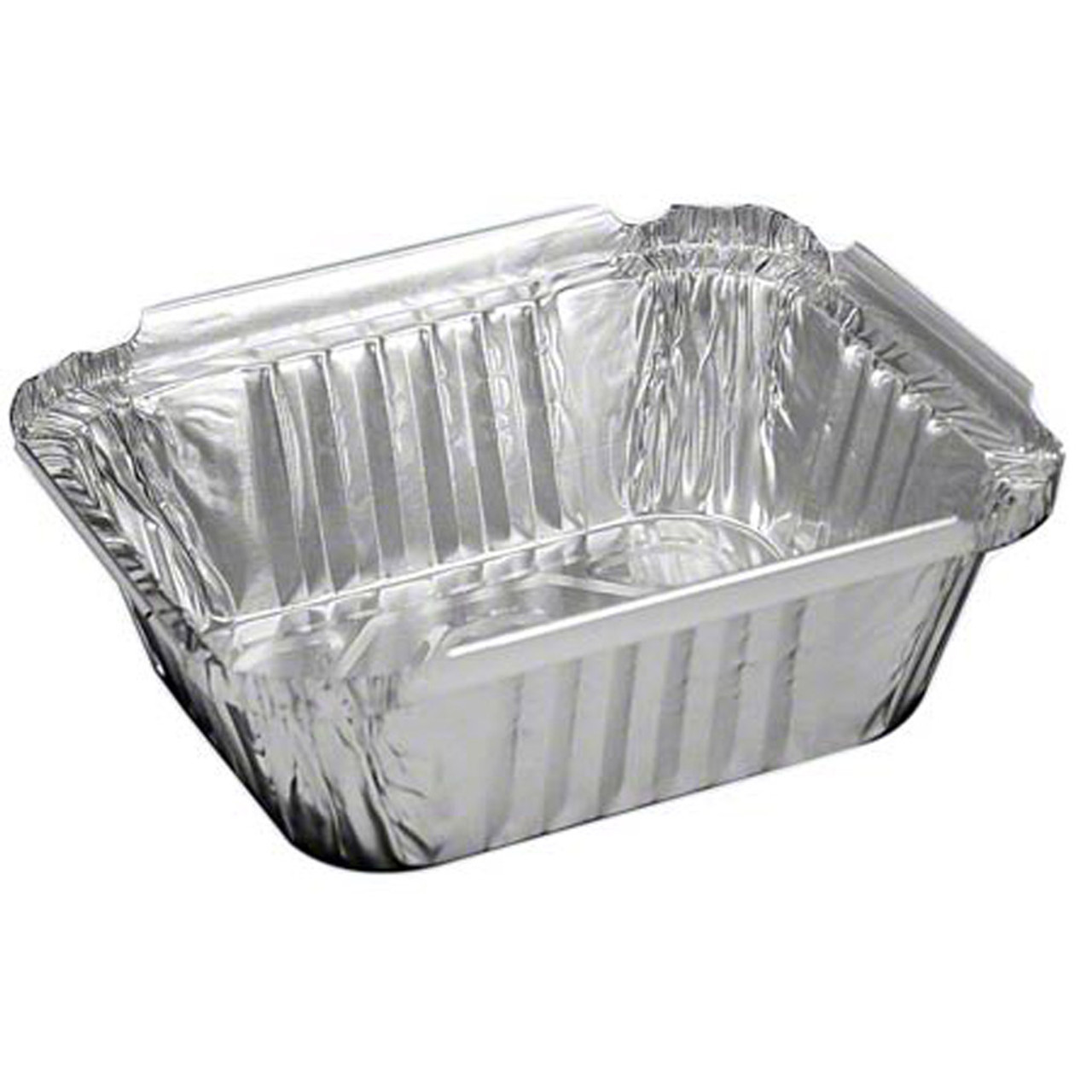 1lb aluminum foil pan with paper lid
