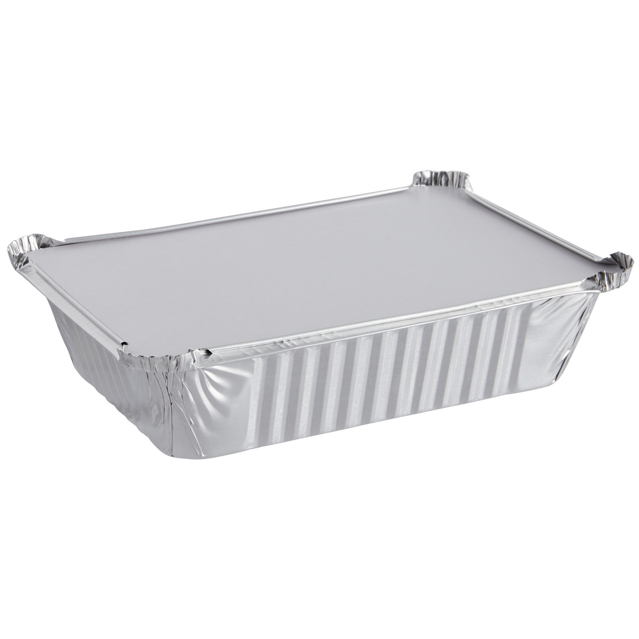 Large 2.25lb Foil Container with Lid