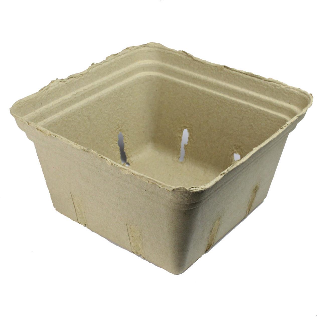 2.5 Quart Paper Molded Fruit Basket